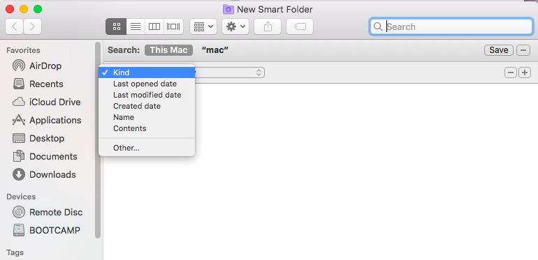 Finderを介してMacで重複ファイルを見つける