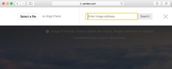 Yandex逆画像検索で類似画像を検索