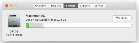 macOSの新しいバージョンで添付ファイルを手動で削除する