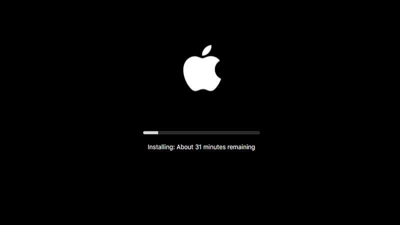 macOSを更新する