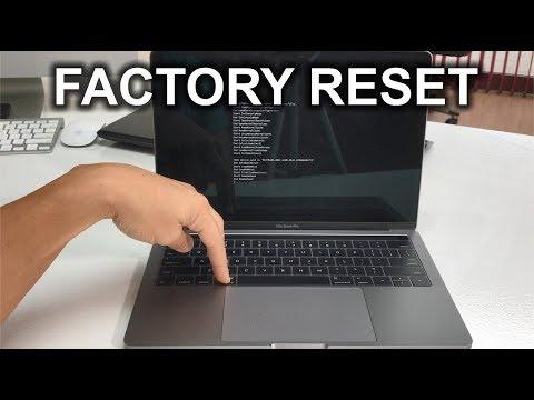 工場リセット
