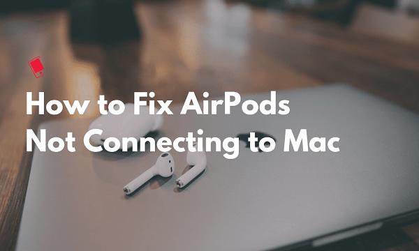 Macに接続していないAirpodを修正する