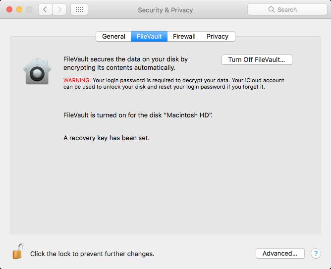 Mac File Vaultのファイルを暗号化する方法