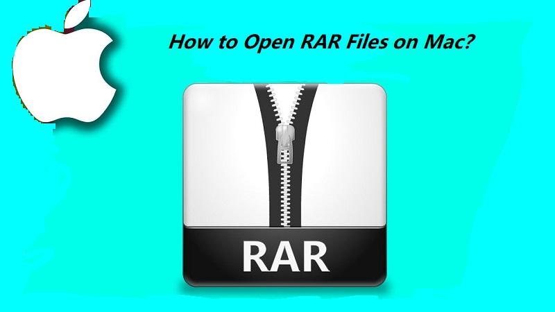 MacでRARファイルを開く方法