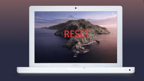 Macを出荷時設定にリセットする方法