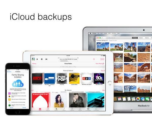 iCloudバックアップを削除する