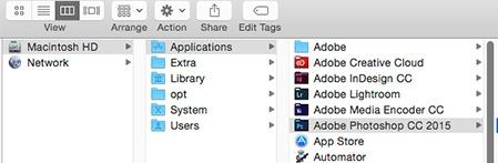 MacでPhotoshopを手動でアンインストールする