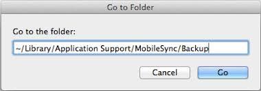 iPhoneのバックアップはMacに保存される場所
