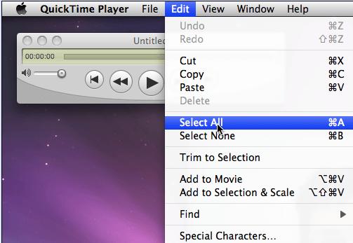 QuickTimeでXNUMXつ以上のファイルを組み合わせる